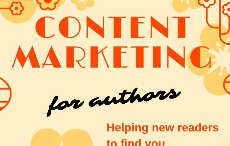 Intro to Content marketing for authors